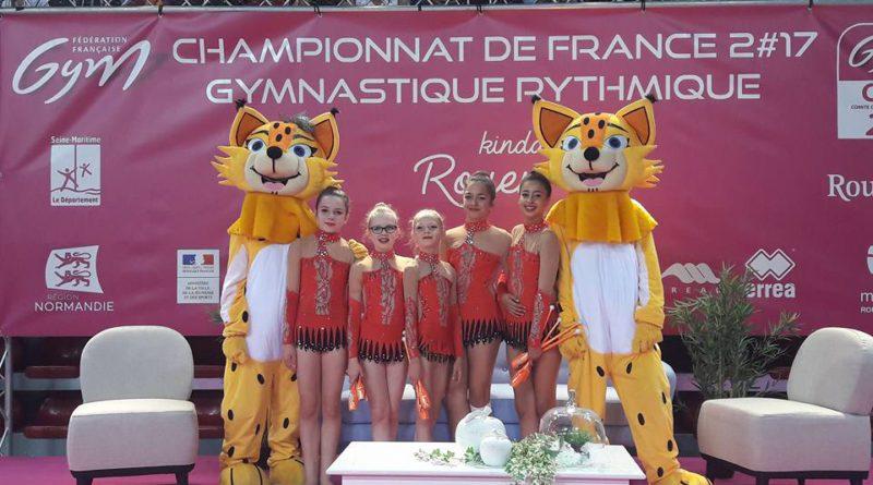Résultats Championnats de France GR
