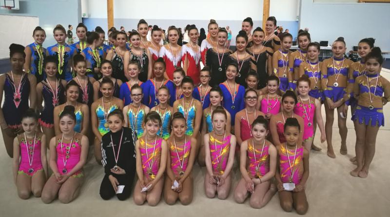 Résultats Championnat Départemental GR Ensemble – Cosnes et Romain