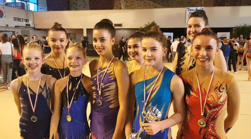 Résultats – Championnat départemental Individuels GR