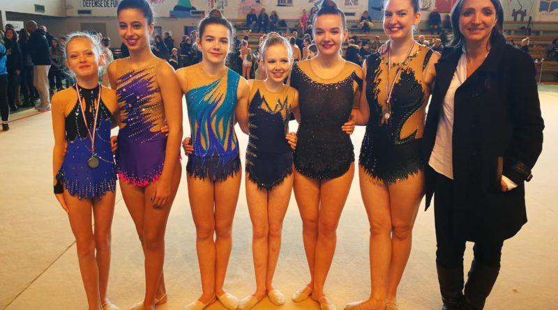 Résultats – Championnat Interdépartemental Individuel GR – Thionville