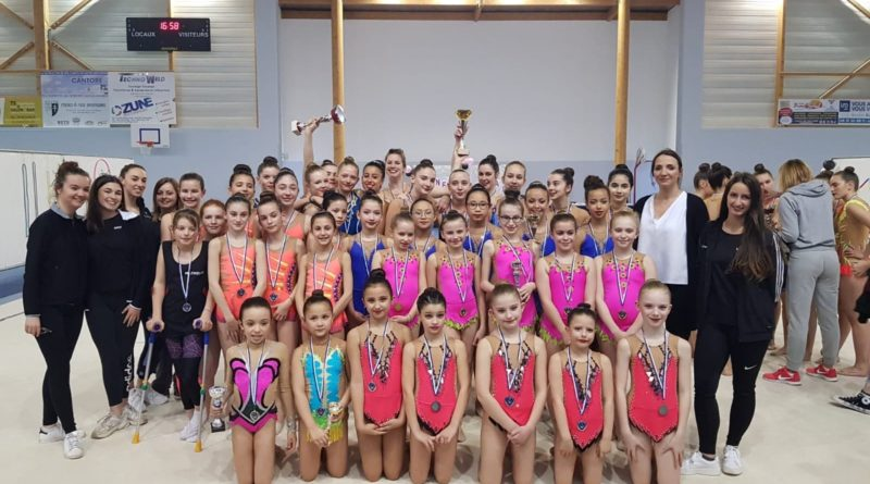 Résultats – Championnat Départemental GR Ensembles – Cosnes et Romain